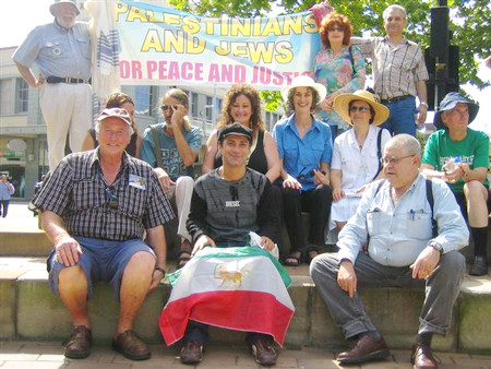 Peace march: Palestinians and Jews for Peace and Justice